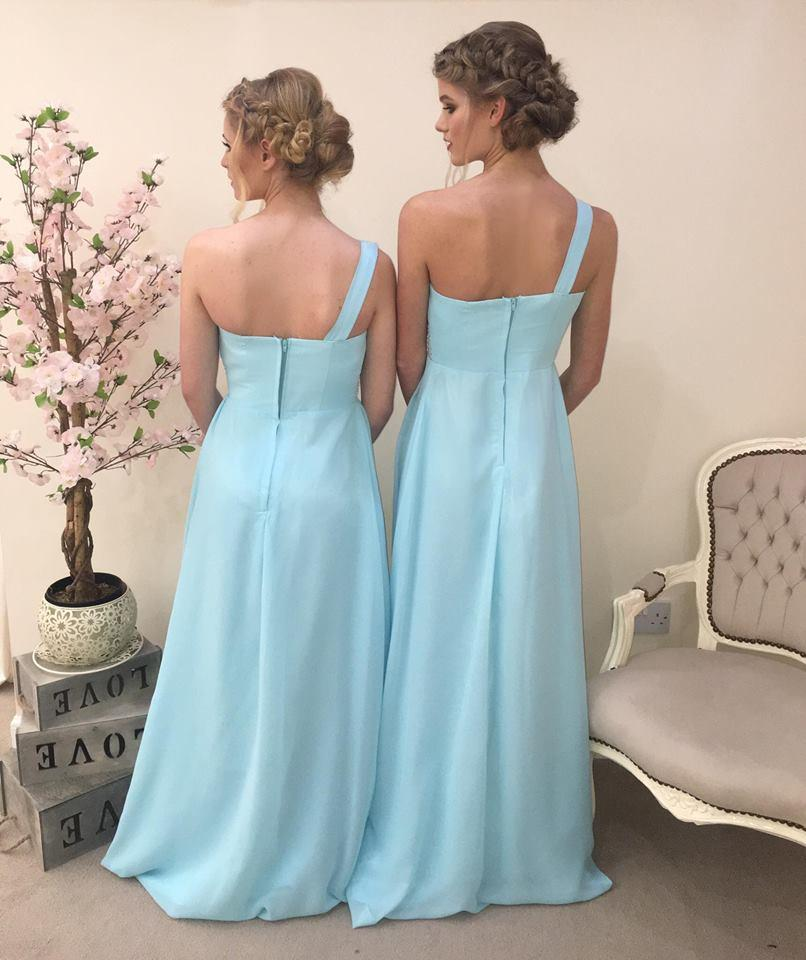 Leah One Shoulder Plus Size Maxi Bridesmaid Dress - That Special Day Bridal Warehouse