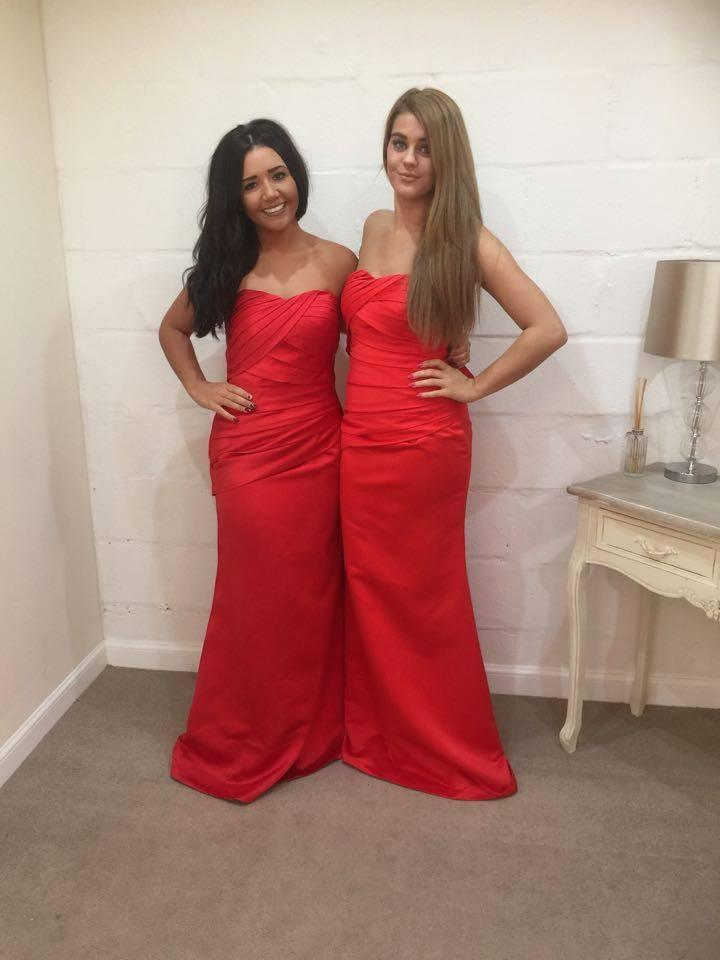 Lucy Satin Bridesmaid Dress - That Special Day Bridal Warehouse