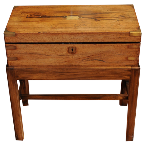 19th Century Lap Desk on a Stand - Chestnut Lane Antiques & Interiors - 1