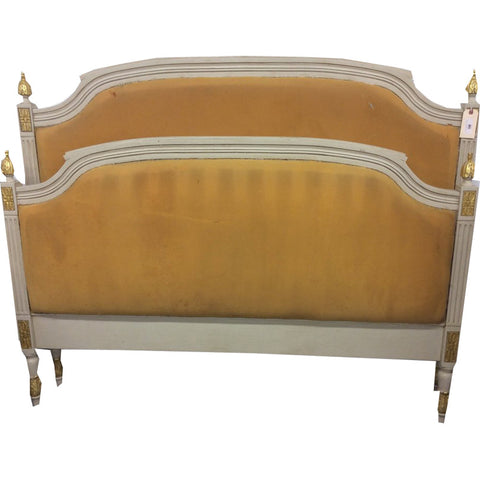 Antique French Bed - Early 20th Century(Queen) - Chestnut Lane Antiques & Interiors - 1