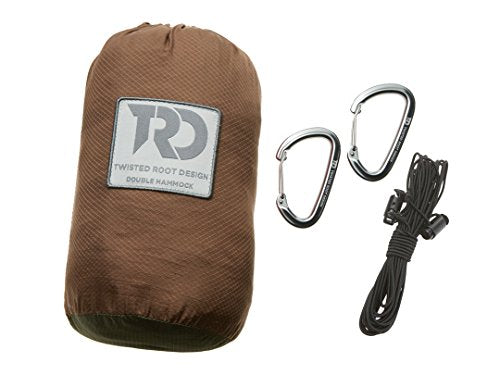 Twisted Big Mozzi [Bug Proof] Hammocks: Dark Khaki