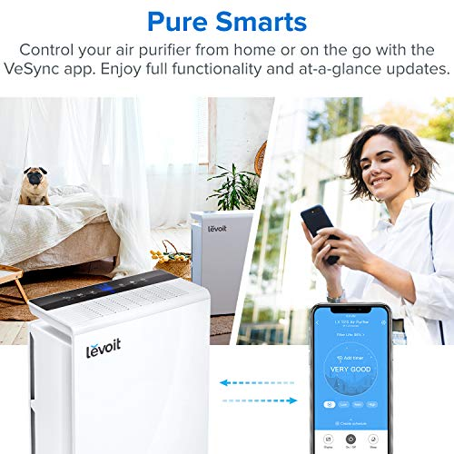 LEVOIT Smart WiFi Air Purifier for Home