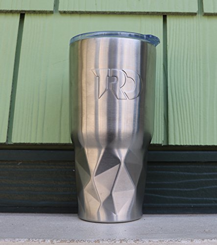 Twisted Root Design Twisted Tumbler: Silver