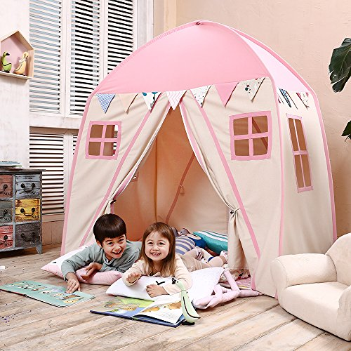 Love Tree  Portable Teepee Tent for Kids with Carry Bag: Pink