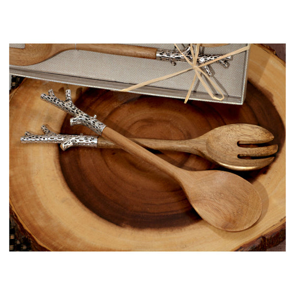 Tree Branch Salad Service Set 6229