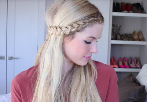 Front Row Braid with Barefoot Blonde