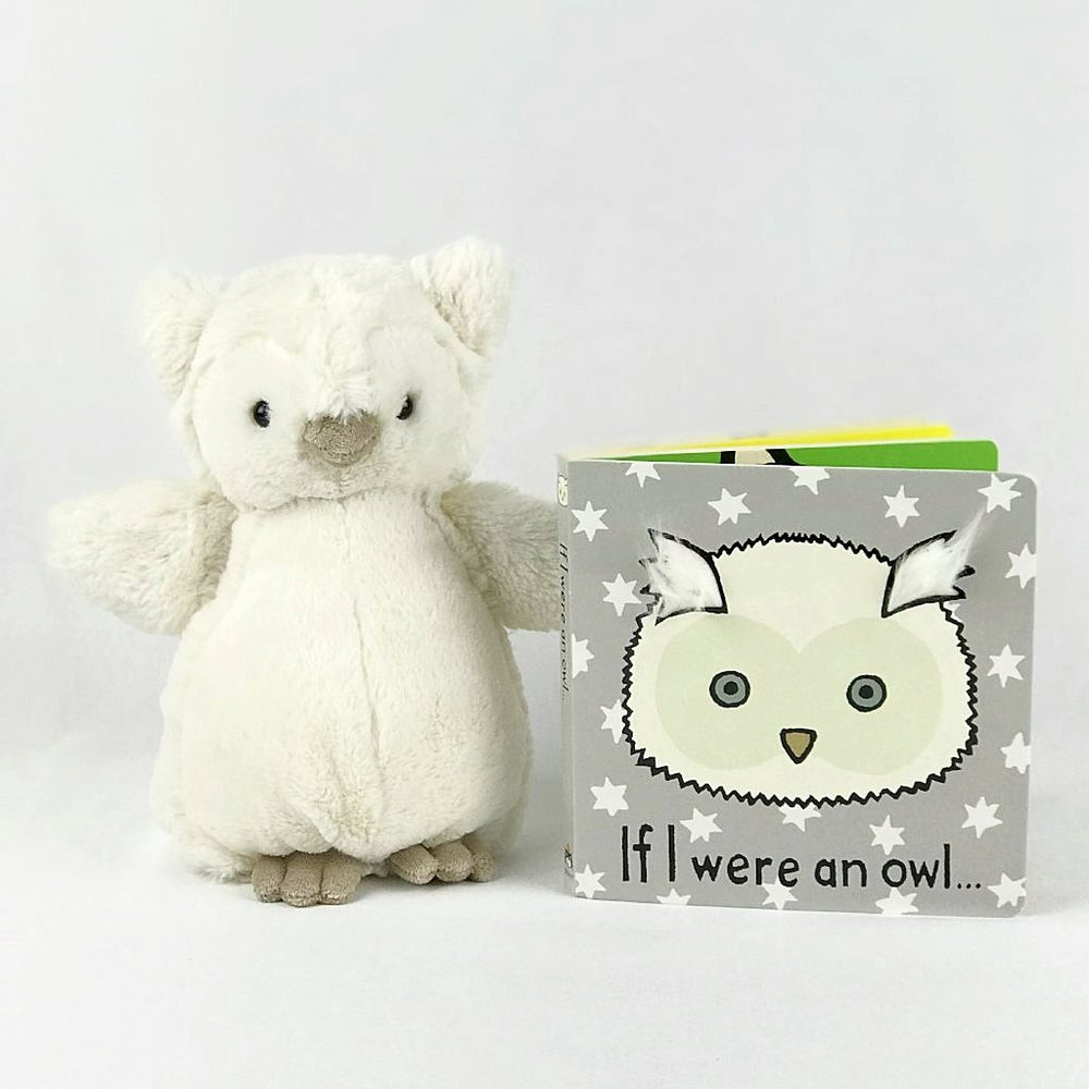 jellycat owl and book