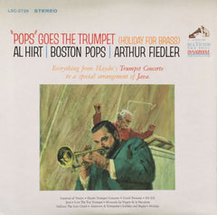 """Pops"" Goes The Trumpet (Holiday For Brass), Al Hirt / Arthur Fiedler (Vinyl)"