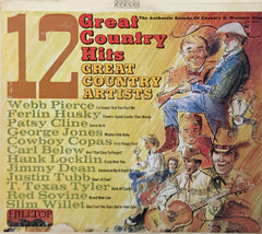 12 Great Country Hits, Various (Vinyl)