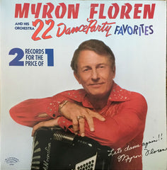 22 Dance Party Favorites, Myron Floren And His Orchestra (Vinyl)