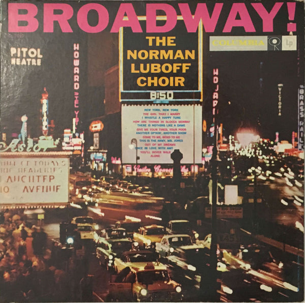 Broadway!, The Norman Luboff Choir (Vinyl)