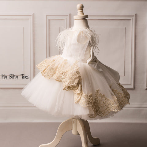 Emilia Dress - Couture - Itty Bitty Toes