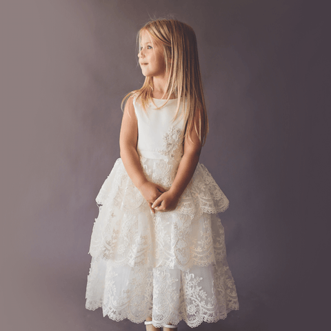 Lorena Dress - Couture - Itty Bitty Toes