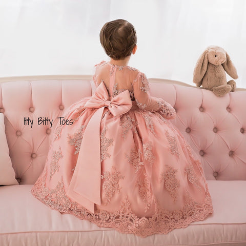 Gizelle Gown - Couture - Itty Bitty Toes