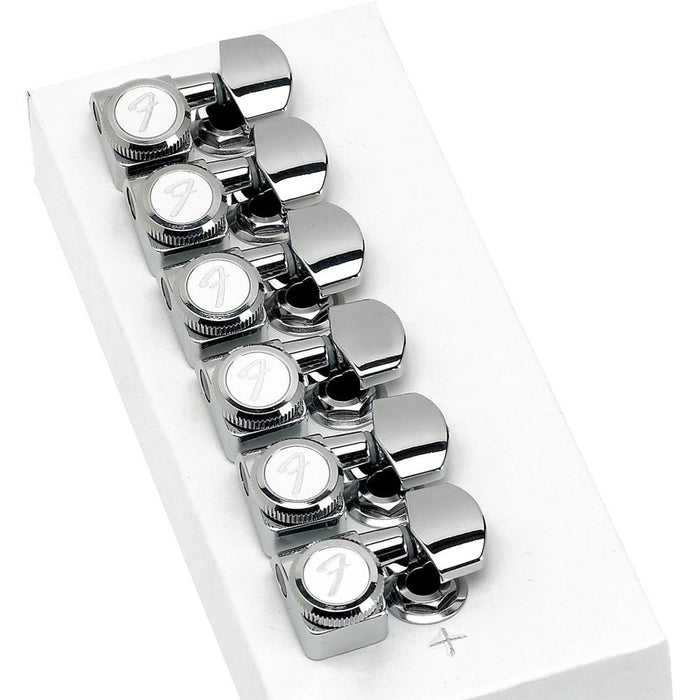 Fender 0990818100 Locking Stratocaster - Telecaster Tuning Machines - Polished Chrome