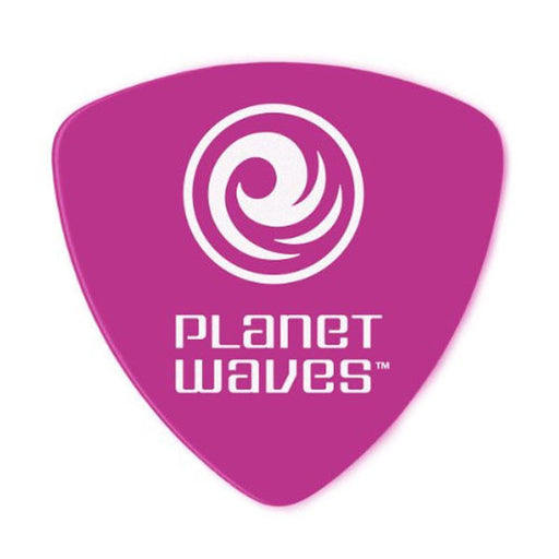 Planet Waves 2DPL6 Wide Shape Heavy Duralin Purple Guitar Pick - Pack of 10