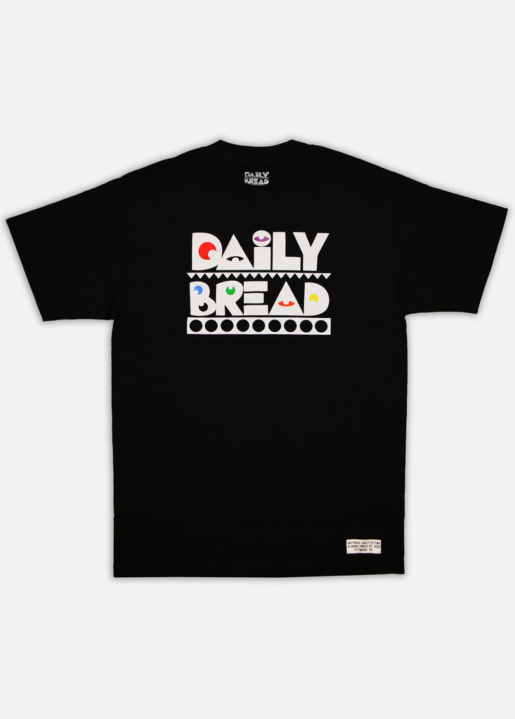 MOOSH TEE - BLACK/PRIMARY