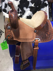 "12.5"" Irvine Barrel Saddle"