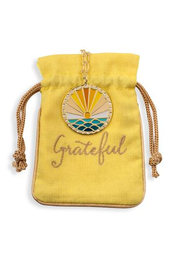 Grateful Each Day Pendant