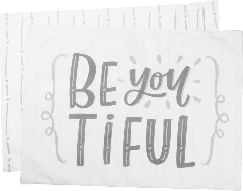 "Pillow Case ""Beyoutiful"" Gift for Best Friend Daughter Mom #PC-107"