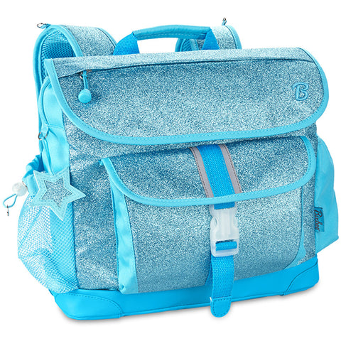 Sparkalicious Turquoise Glitter Backpack Medium