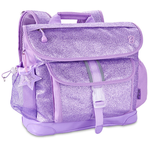 Sparkalicious Purple Glitter Backpack Medium