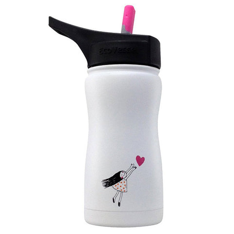 Frost Insulated Stainless Steel Bottle White Heart