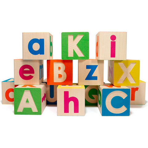 Upper and Lowercase ABC Blocks