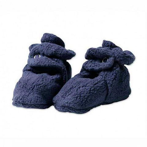 Cozie Fleece Booties - Navy