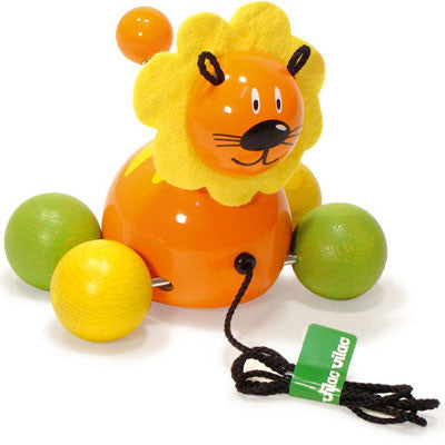Lion Baby Gaston Pull Toy from Vilac