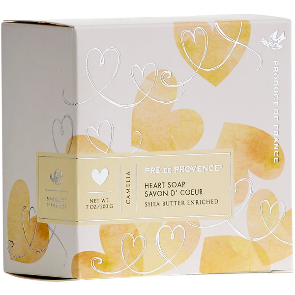 200g Heart Soap Gift Box - Camelia