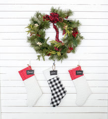 PATTERN (PDF): Christmas Stocking Pattern (Immediate Download)