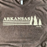 Arkansas Trees Tee - Expresso