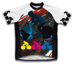 Biker Chaos Short Sleeve Cycling Jersey for Men and Women
