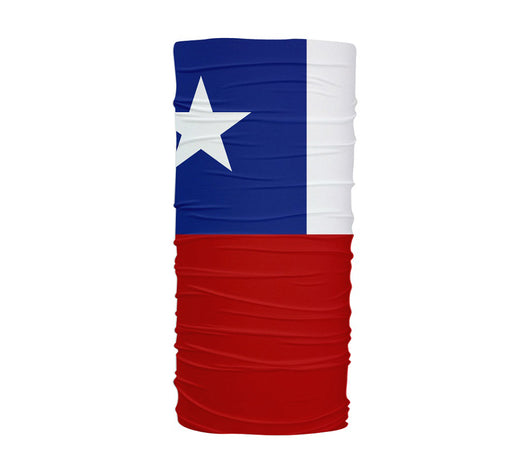 Chile Flag Multifunctional UV Protection Headband