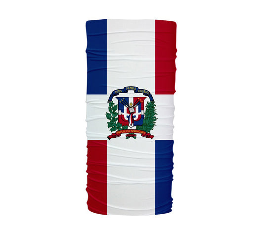 Dominican Republic Flag Multifunctional UV Protection Headband
