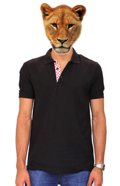 Black Shemagh Polo