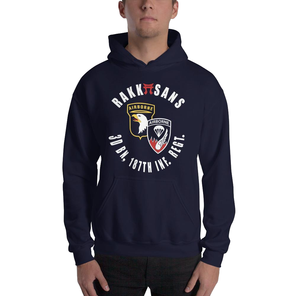 RAKKASANS • 3DBN, 187TH INF. REGT. • UNITDOG 1776 - Hooded Sweatshirt