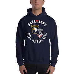 RAKKASANS • 1STBN, 187TH INF. REGT. • UNITDOG 1776 - Hooded Sweatshirt