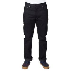 "Black West Fork ""Red"" Jean by Ginew"