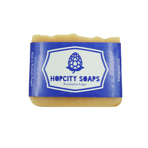 Eucalyptus Lager Soap by Hop City Soaps