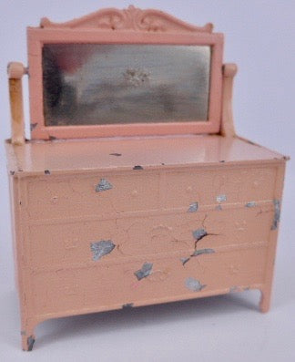 Tootsie Toy mirrored chest of drawers