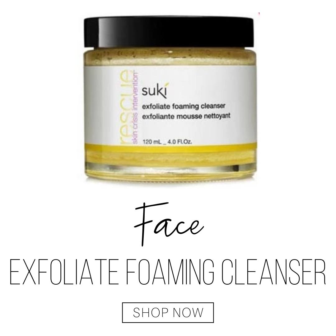 face: exfoliate foaming cleanser from suki
