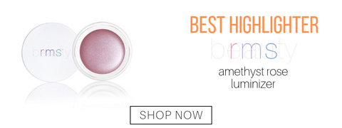 best highlighter: amethyst rose luminizer from rms beauty