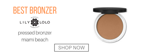 best bronzer: pressed bronzer in the shade miami beach from lily lolo