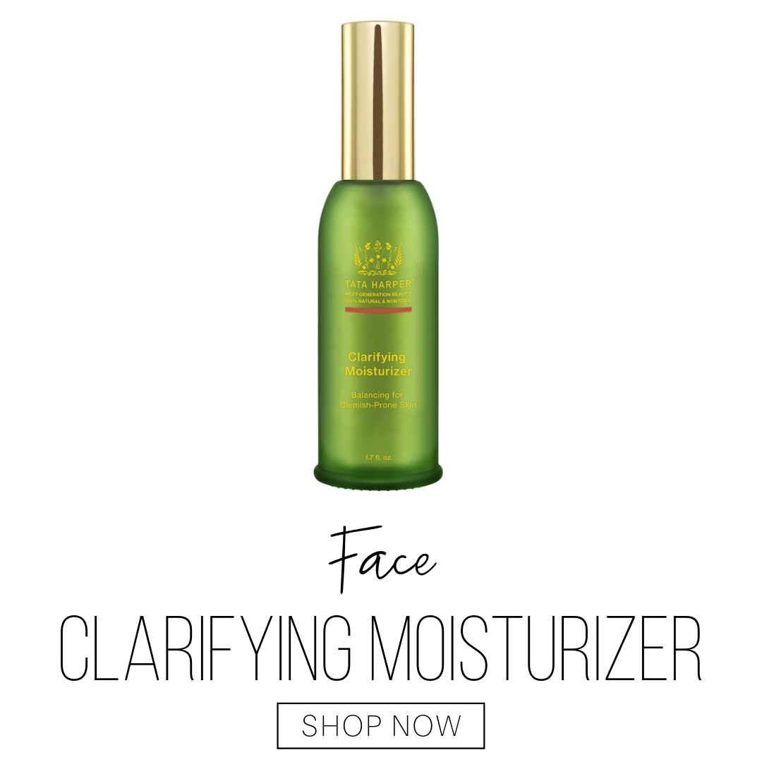 face: clarifying moisturizer from tata harper
