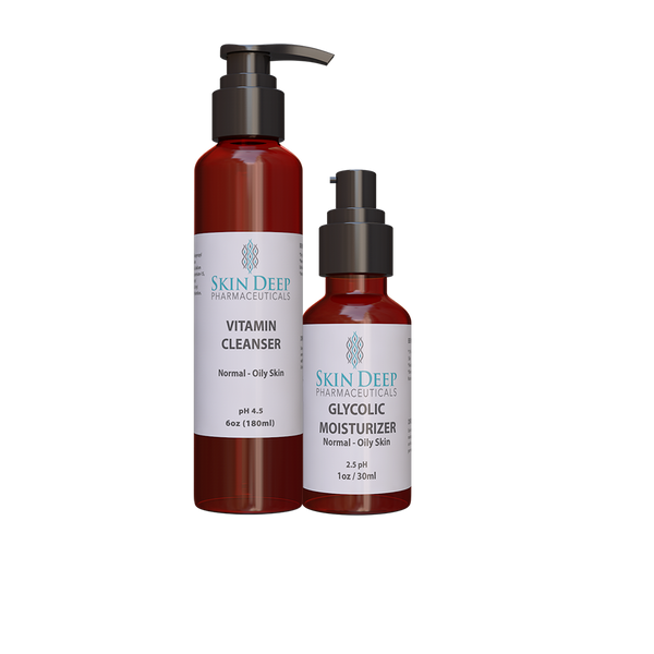 Basic Glycolic Resurfacing Kit - Skindermis