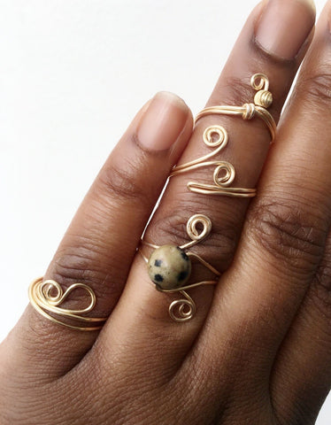 D.I.Y. Jewelry Making Classes: RINGS Sunday February 24th