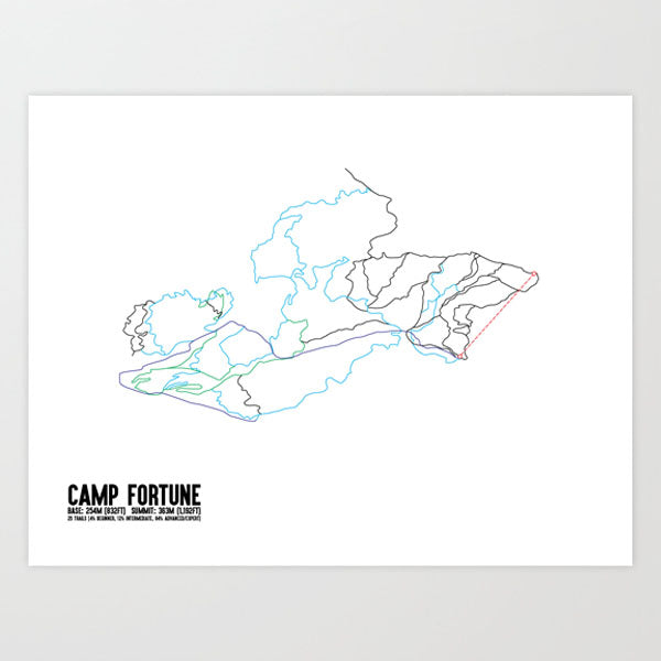 Camp Fortune Bike Trails