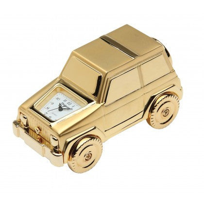 SUV Clock - Gold